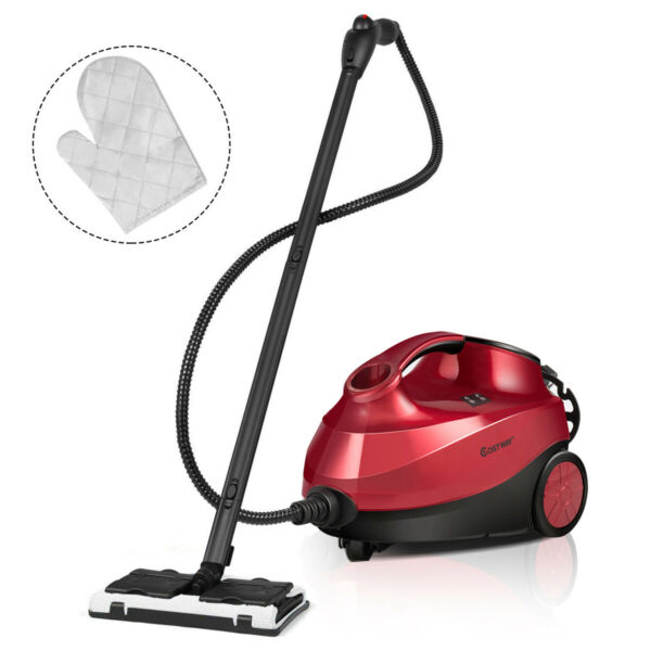 2000W Heavy Duty Steam Cleaner Mop Multi Function W 19 Accessories 4.0 Bar 1.5L