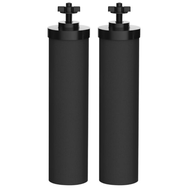 Compatible with Black Berkey Replacement Filters BB9 2 by AQUACREST
