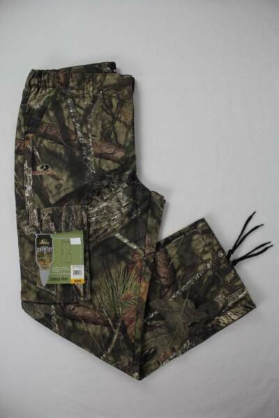 Mens Mossy Oak Break Up Country Cargo Pants Large 36 38 Camouflage Hunting $17.99