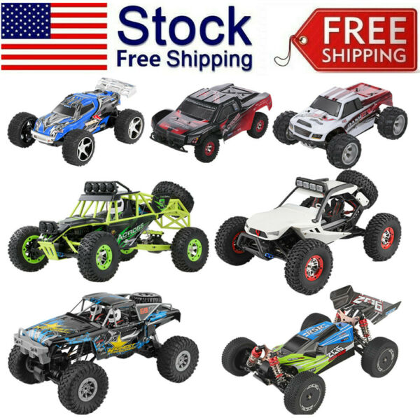 Wltoys RC Car Big Foot High Speed Bug Gy Off Road Truck Kid Toy Gift Lot US E7R2 $74.99