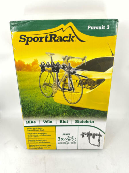 SportRack Pursuit 3 Bike Trunk Bike Rack $69.99