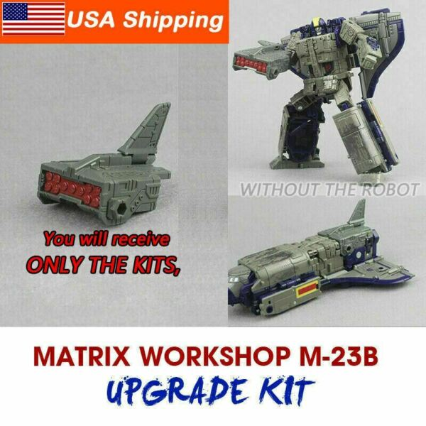 Matrix Workshop 3D M 23B Upgrade kit for siege Astrotrain tail Upgrade Kit DIY