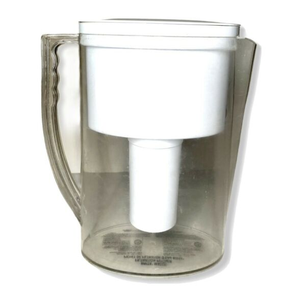 Brita Pitcher OB11 Slim Water Filtration 5 Cup White Clear Household Pre Owned
