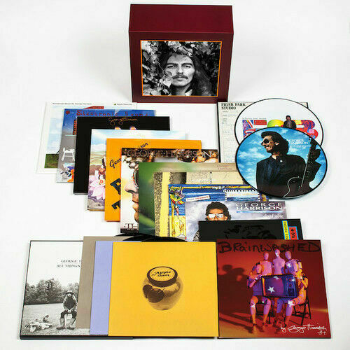 George Harrison Complete Vinyl Collection LP Limited Edition Box Set NEW Beatles