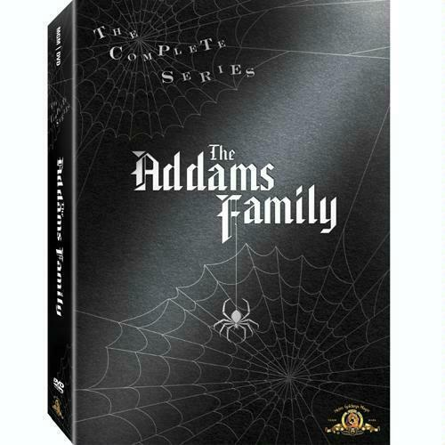 The Addams Family The Complete Series Volumes 1 2 amp; 3 DVD Box Set Brand New 1 3