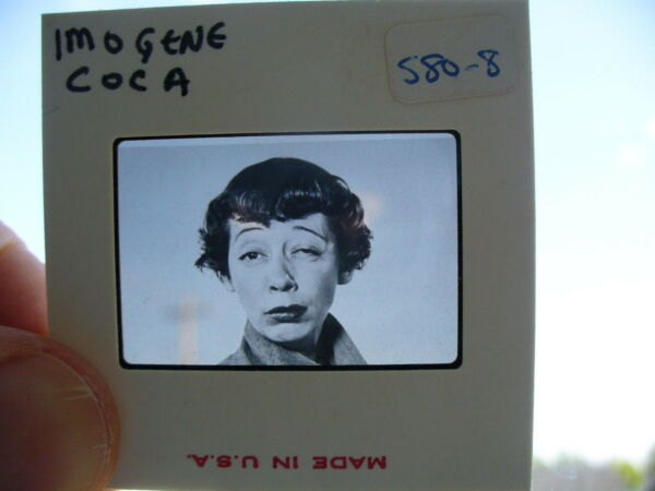 Imogene Coca Vintage 35mm Photo Slide