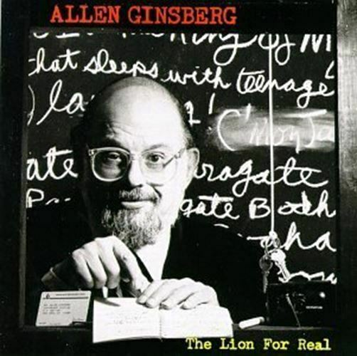 The Lion For Real Audio CD Allen Ginsberg $5.99