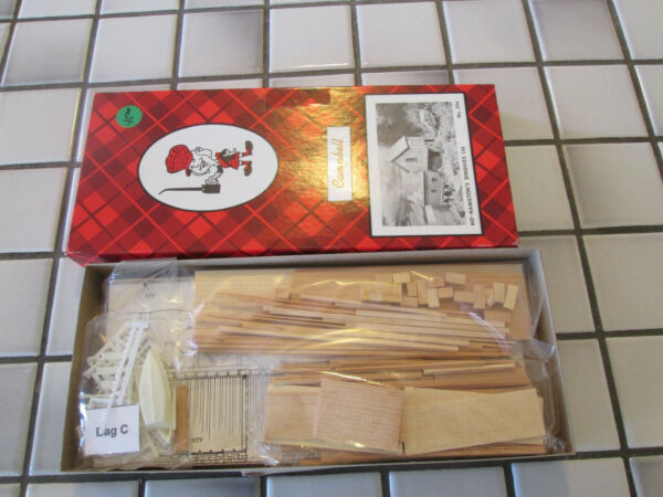 campbell models HAMILTON#x27;S DINGHIES wood kit HO scale $68.90