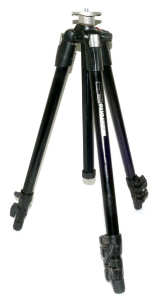 Manfrotto 190XDB Aluminum Tripod LOOKS GOOD amp; WORKS FINE GREAT quot;USERquot;