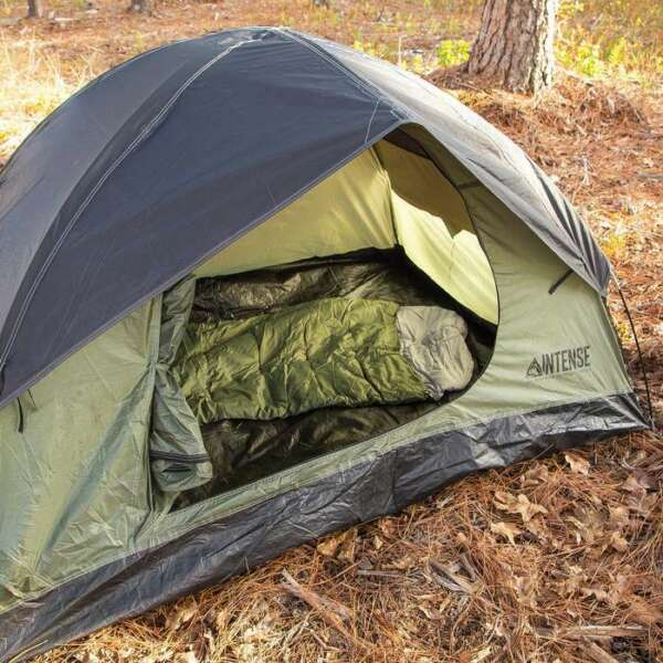 Portable Outdoor Camping 2 Person Waterproof Hiking Folding Dome Tent Camouflage