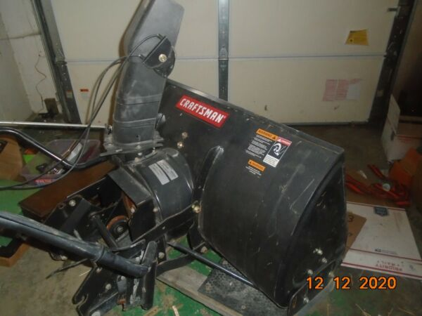 CRAFTSMAN42quot; 2 STAGESNOW THROWERTRACTOR ATTACHMENTMODEL 486 24837SEARSNICE