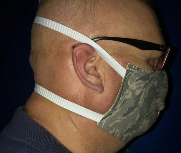 Face Mask Unisex adjustable nose modern Camo mask size XLG ships from USA ***