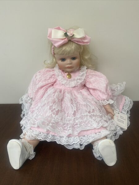 Marie Osmond Dolls Picture Day Series 24quot; 1996 Liana 2382 2500 Porcelain As Is