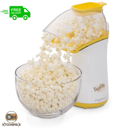 Popcorn Maker Machine Durable Fast Hot Air Popper Electric Not Oil Yellow $31.99