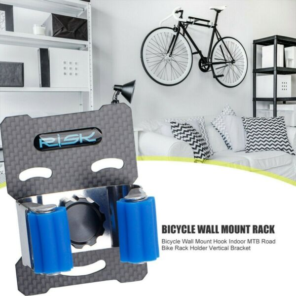 Bicycle Wall Mounted Hook Garage Bike Parking Rack Holder Hanger Storage Bracket $11.99