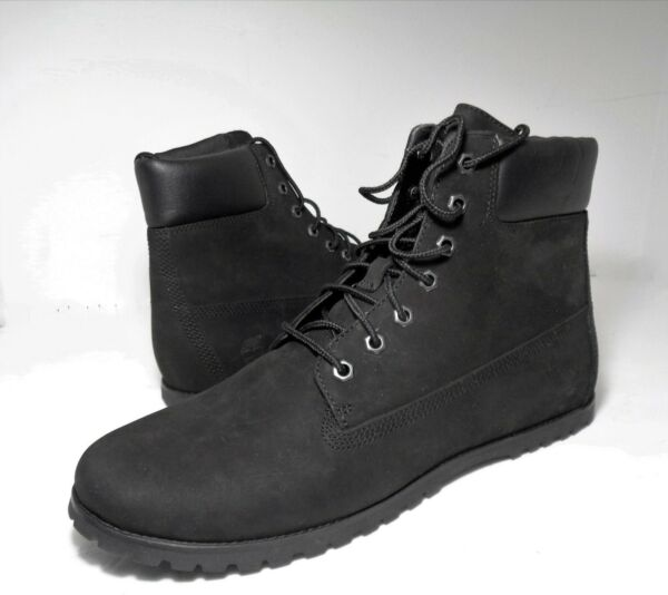 Timberland Womens Boots Joslin Ankle Boots Nubuck Leather Black Color US Sz 10M $75.99
