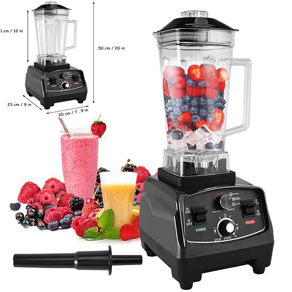 1000W High Speed Professional Countertop Blenders For Shakes And Smoothies Home