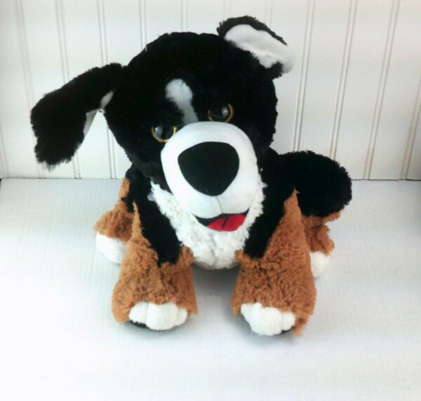 Bernese Mountain Dog St Bernard Plush quot;Toy Factoryquot; Stuffed Animal Plushie 12quot; $18.88