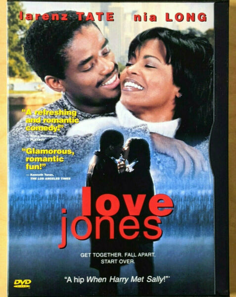LOVE JONES DVD 2001 EXCELLENT FREE SHIPPING
