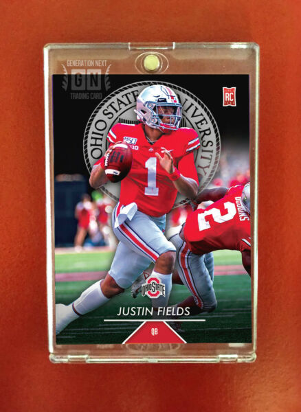 Justin Fields Rookie Card QB Ohio State Generation Next