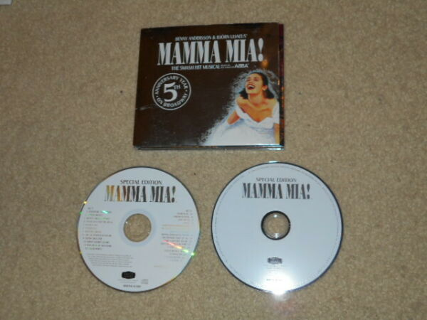 MAMMA MIA SPECIAL EDITION CD DVD ORIGINAL CAST 27 TRACKS