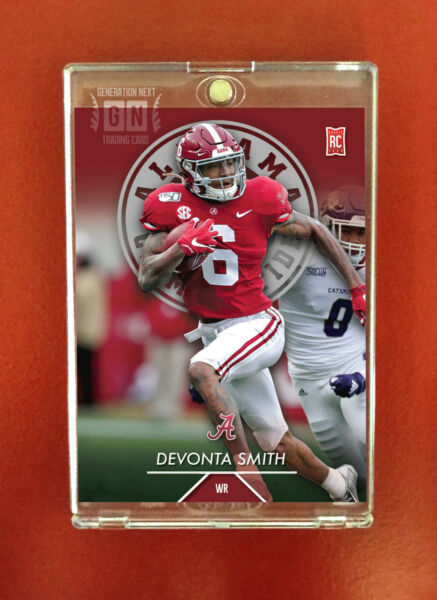Devonta Smith Rookie Card WR Alabama Generation Next