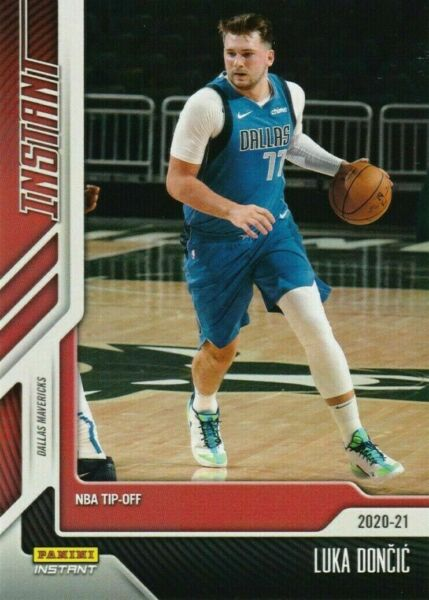 2020 21 Panini Instant NBA Tip Off LUKA DONCIC #11 SHORT PRINT 1 of 617 $6.49