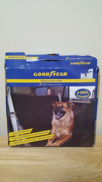 GoodYear Hammock Seat Cover for Pets Dogs Car Seat Blanket Cover Used $15.95