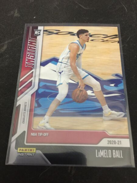 2020 21 Panini Instant NBA Tip Off LaMELO BALL #3 1 617 Rookie RC Mint $27.95