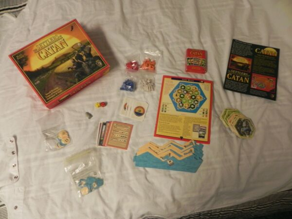 Award Winning Game The Settlers of Catan Board Game Mayfair Games #3061