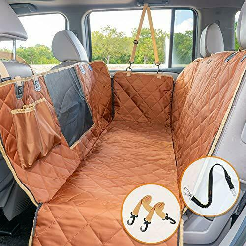 iBuddy Dog Car Seat Covers Waterproof Dog Seat Cover for Back Seat $64.76