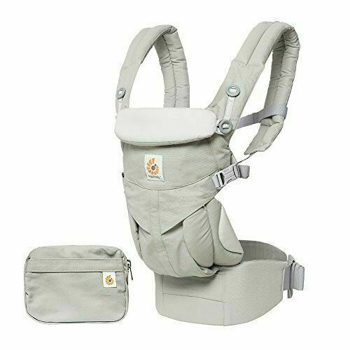 Ergobaby BCS360GRY Omni 360 All In One Baby Carrier Pearl Grey