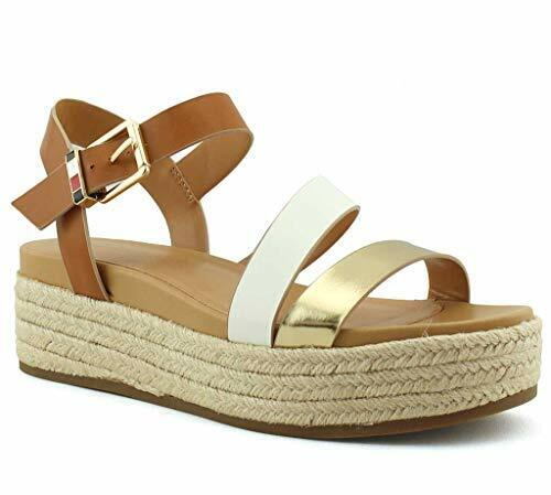 Tommy Women#x27;s Marri Tan Multi Tan Multi Size 7.0 $16.47
