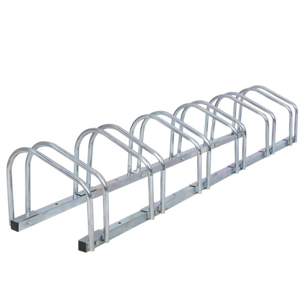 5 Bicycle Floor Parking Rack Stand for Mountain MTB and Road Bike Garage Storage $39.99