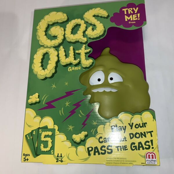 Gas Out Game Play Your Card But Don#x27;t Pass The Gas Ages 5 Family Card Game $19.95