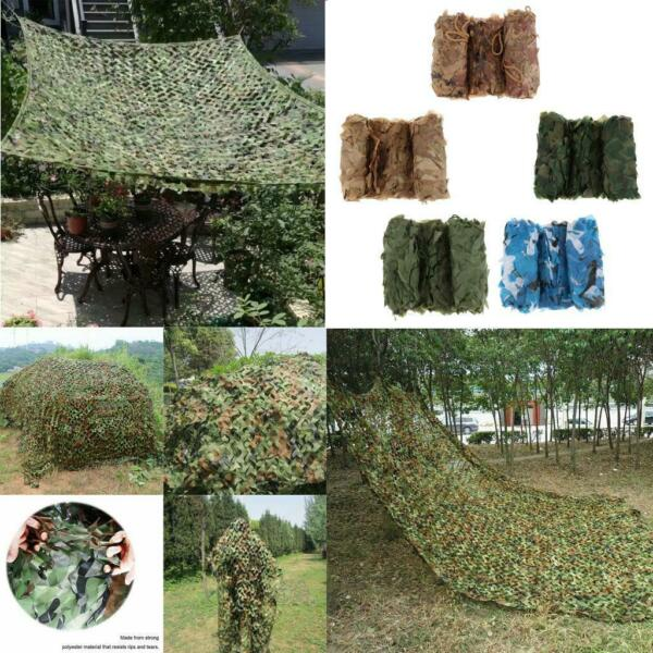 9.8 x 16.4ft 3 x 5Meters Woodland Camouflage Netting Desert Camo Net for