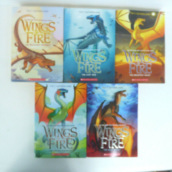 WINGS OF FIRE Set of Books 1 5 Tui T. Sutherland