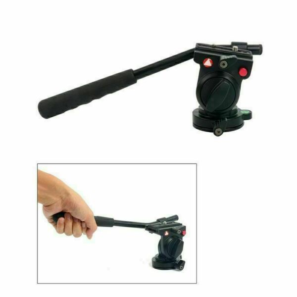 Fluid Head Hydraulic Video Camera Tripod Head For DSLR Tripod Monopod US STOCK