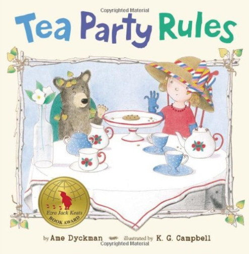 Dyckman Ame Campbell K. ... Tea Party Rules BOOK NEW