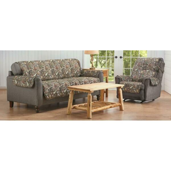 New Mossy Oak Camo Furniture Covers For Recliner Loveseat And Sofa $60.95
