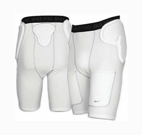 Nike MENS Pro DriFit Impact Football Girdle Compression Shorts Padded SMALL