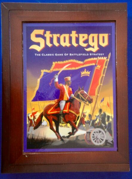 New Stratego Vintage Game Collection With Chipped Corner