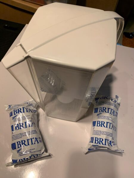 Brita Water Filter Pitcher With 2 New Filters