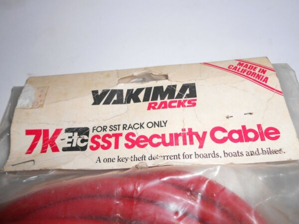 Yakima car rack 7Ketc SST security cable for SST rack only $24.95