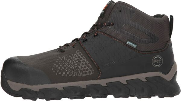 Timberland PRO Mens Ridgework Composite Safety Toe Waterproof Brown Size 14.0 $77.32