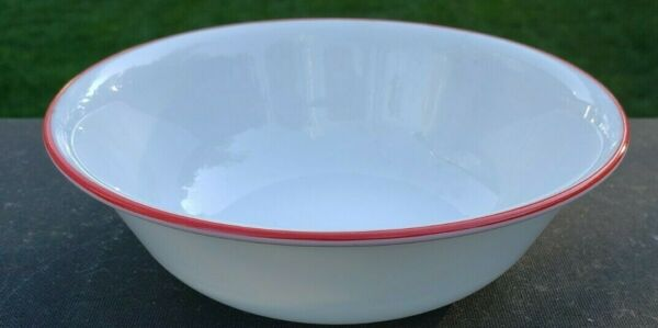 Pyrex Corelle Corning Hot Dots Coffee 6¼quot; Soup Cereal Bowl