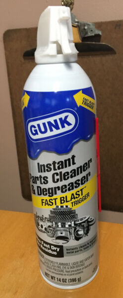 GUNK INSTANT PARTS CLEANER amp; DEGREASER ULTRA FAST DRY FAST BLAST NEW $8.92
