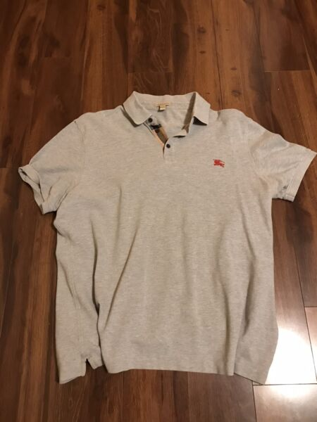 Burberry Men's Polo Shirt Size XL. Authentic And Great Condition $26.99