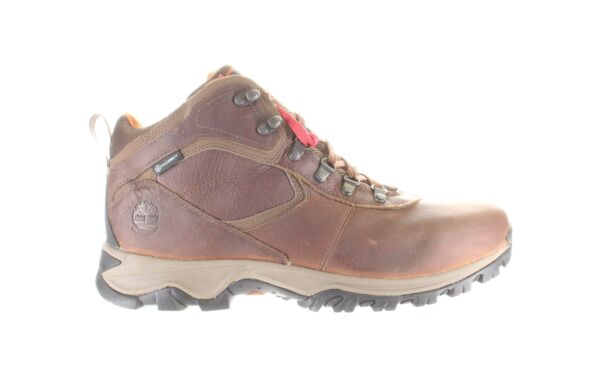 Timberland Mens Mt. Maddsen Brown Hiking Boots Size 14 Wide 1761157 $67.89