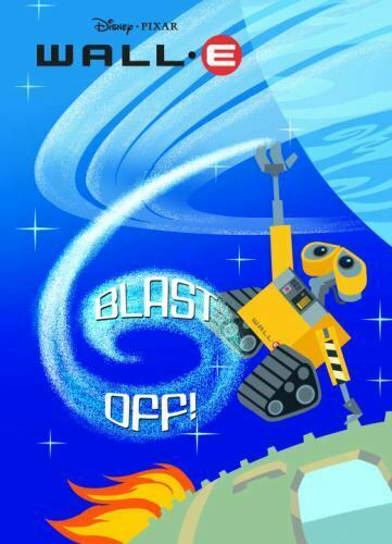 Blast Off Wall E Deluxe Coloring Book $4.08